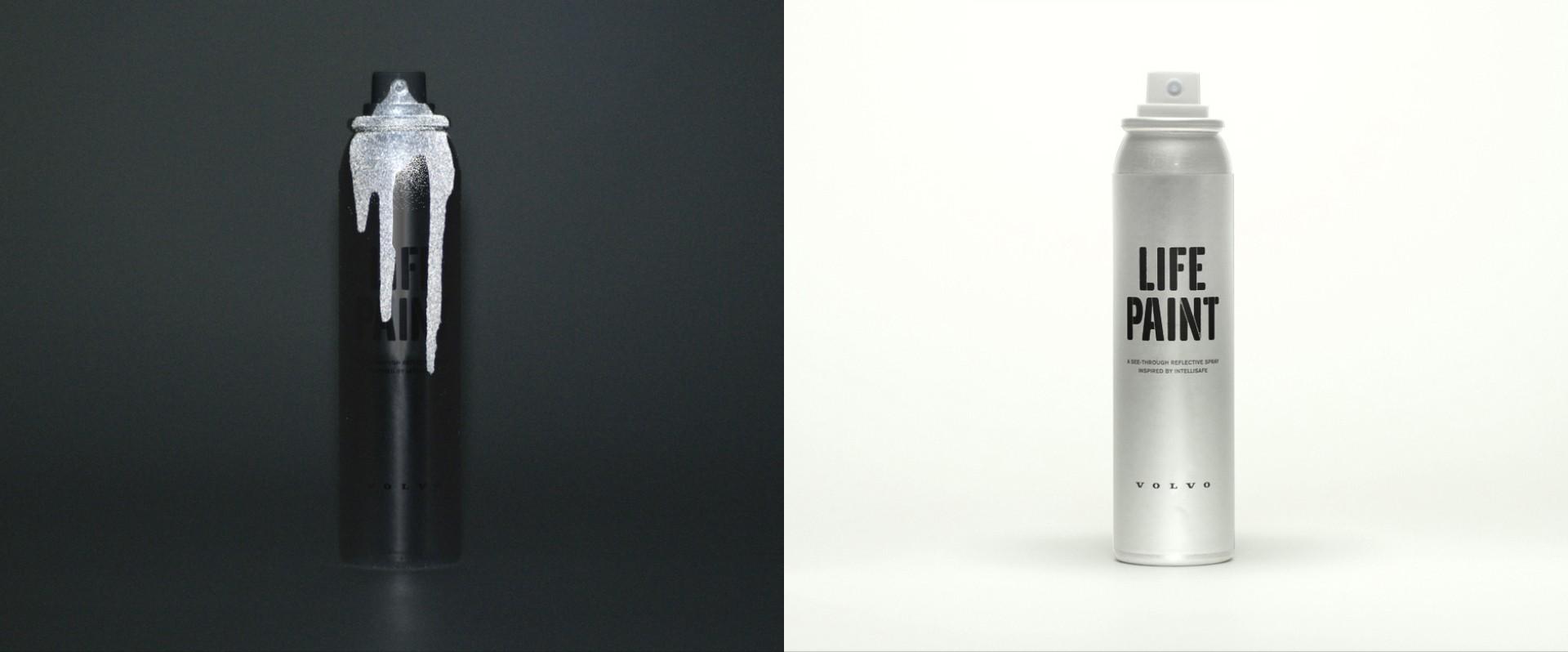 Volvo Life Paint, ücretsiz, yıkanabiliyor, materyale zarar vermiyor ve 1 hafta kalıcı