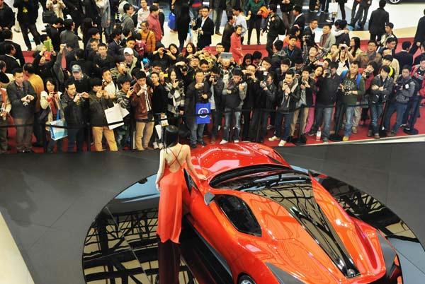 Şangay Fuarı'nda bu yıl modellerin araçları sunması yasak