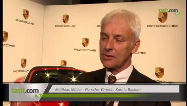 Porsche CEO'su Matthias Muller, Tesla hakkında birşey bilmediğini söyledi