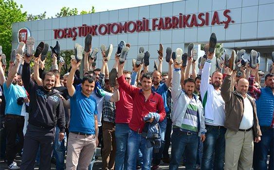 Tofaş, işçi eylemleri sonrasında uzlaşma sağlayarak üretime yeniden başladı