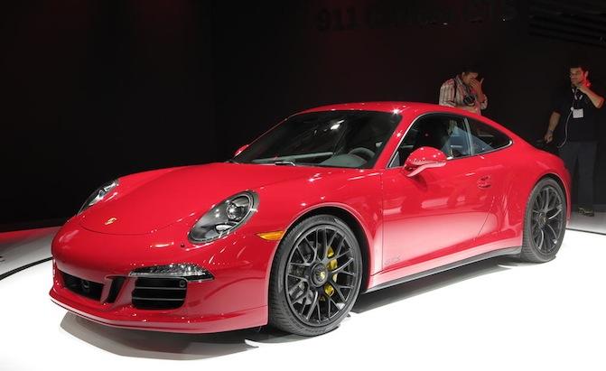 Porsche 911 istanbul autoshow2015