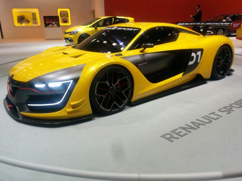 yarış otomobili Renault Sport R.S. 01