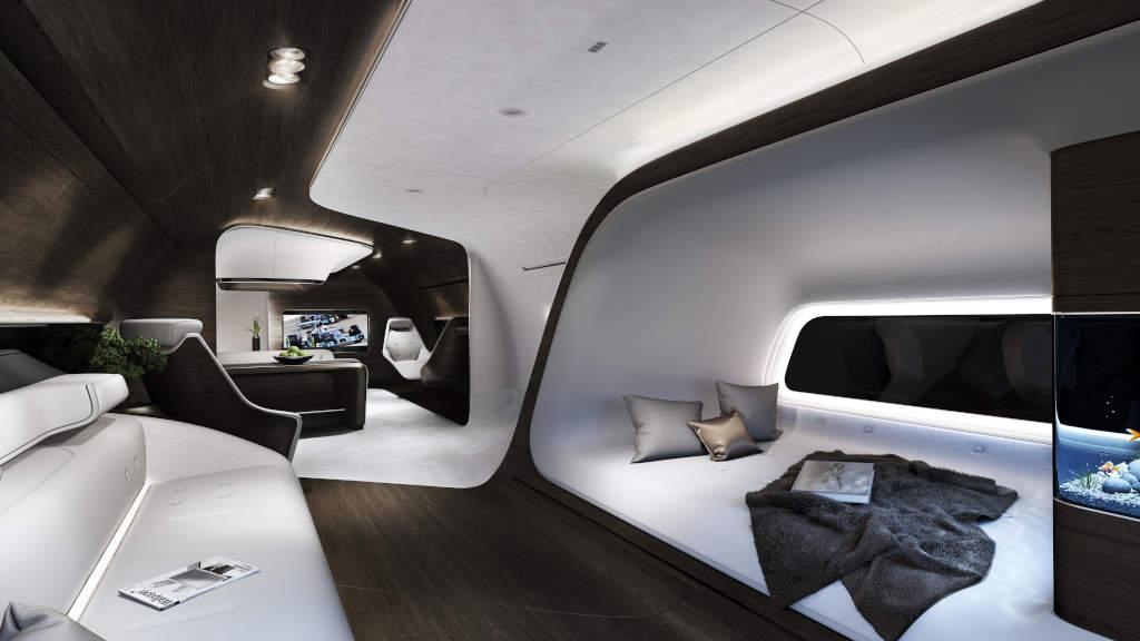Lufthansa jetlerinde Maybach'ı aşan bir teknoloji ve konfor hakim.