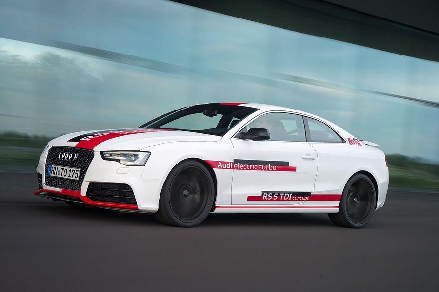 Audi RS5 coupe dizel rekor kırdı 2015