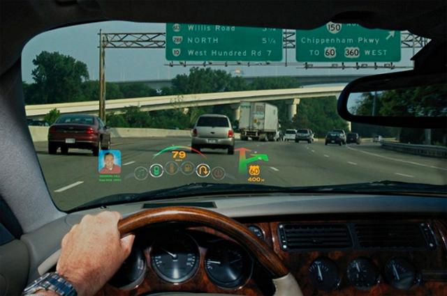 Head up display ve akıllı telefon entegrasyonuyla ön camınız telefonunuzun ekranına dönüşebilir