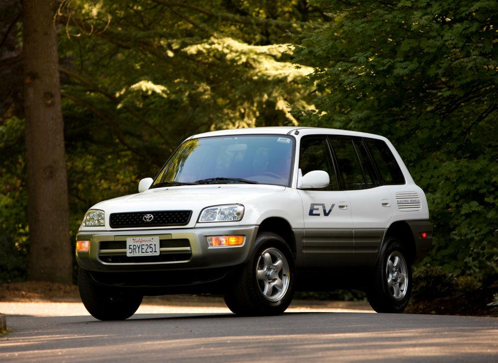Toyota Rav4 Ev 1997 beyaz
