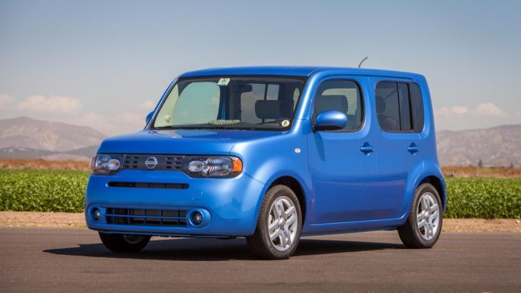 Nissan Cube mavi