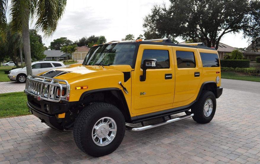 Hummer h2 sarı