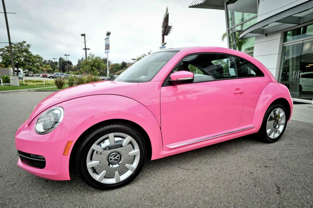 new beetle volkswagen pembe