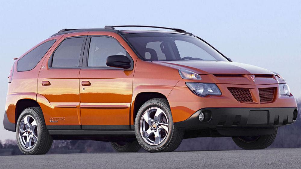 Pontiac Aztek turuncu