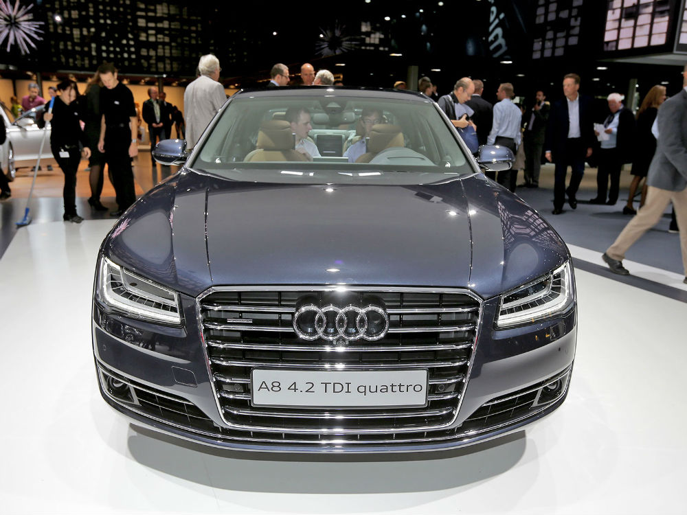 Audi A8 Frankfurt Otomobil Fuarı