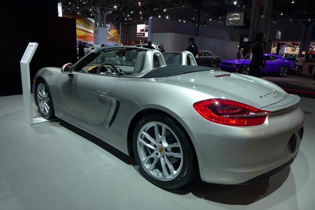 Porsche Boxster NYIAS