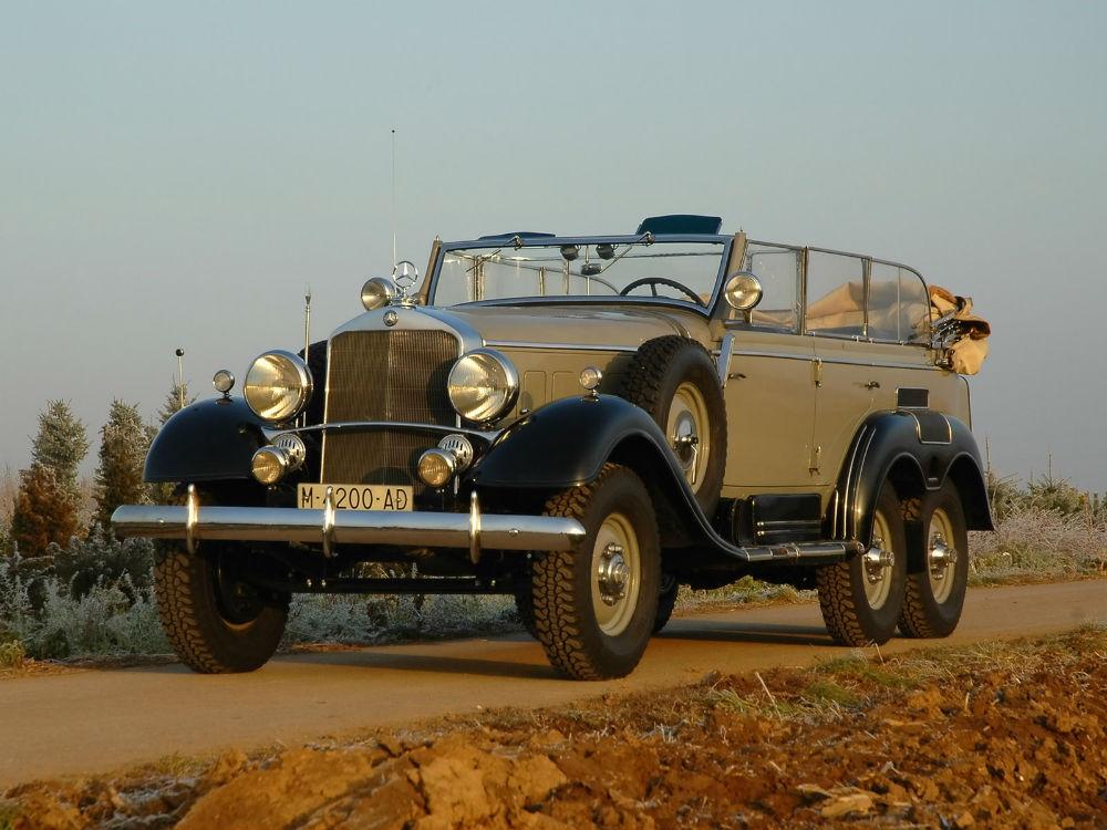 Hitler tarafından Franco'ya hediye edilen Mercedes Benz İspanya Kralı'nın araç koleksiyonunda