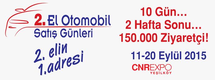 ikinci el otomobil satış günleri, istanbul, eylül 2015