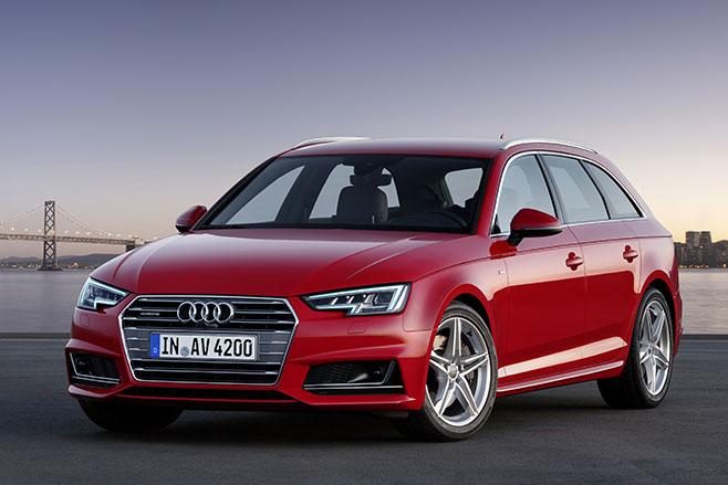 Beşinci nesil yeni 2016 Audi A4 Frankfurt Fuarında tanıtılacak.