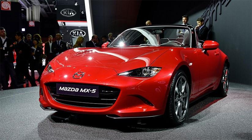 Mazda MX5, kadınların hayallerinin otomobili ödülünün sahibi oldu.