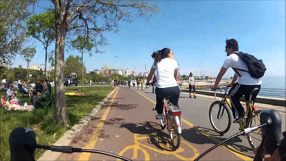 caddebostan bisiklet yolu istanbul