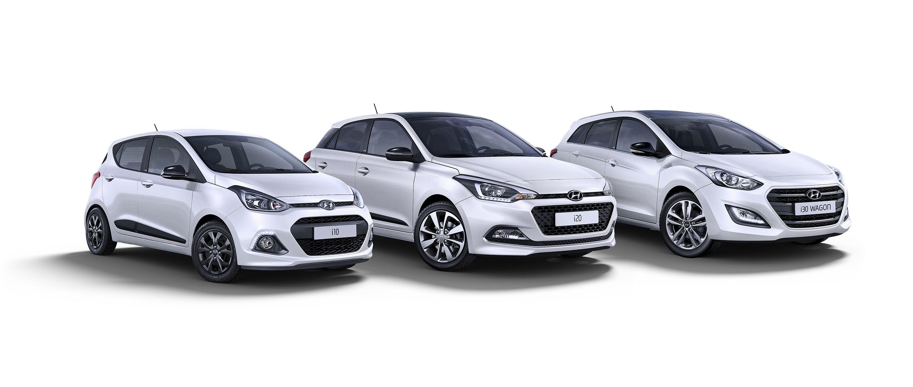 Hyundai i10, Hyundai i20 ve Hyundai i30