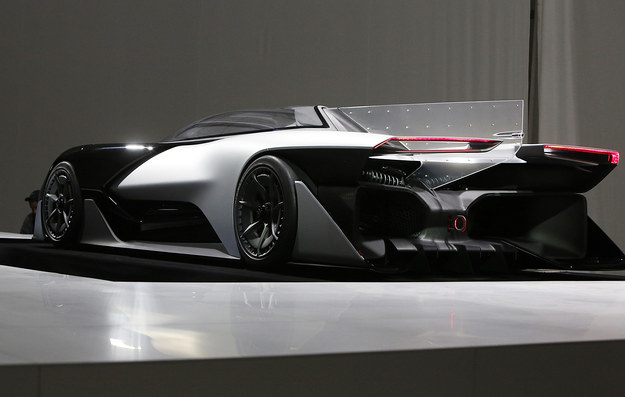 Faraday Future Zero1, BMW ve Tesla mühendis ve tasarımcıları tarafından hazırlanmış.