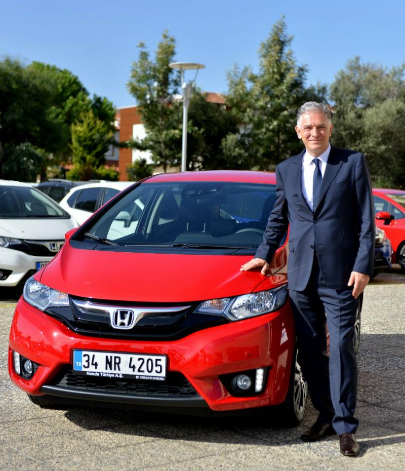 Honda Türkiye Başkan Yardımcısı İsmail Sümer