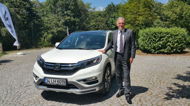 Honda Başkan Yardımcısı İsmail Sümer