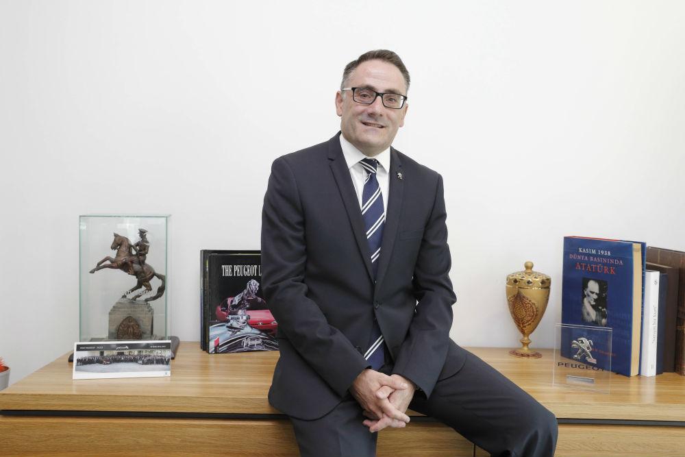 Peugeot Türkiye Genel Müdürü Laurent Pernet