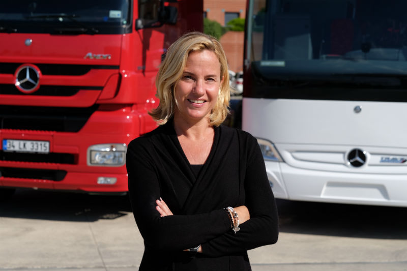 Mercedes Benz Türk CEO Britta Seeger