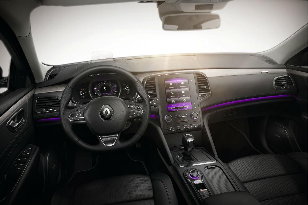 Renault Talisman kabini son derece geniş ve konforlu.