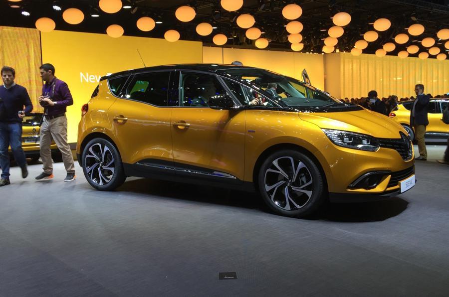 Yeni Renault Scenic tasarımı çok dinamik