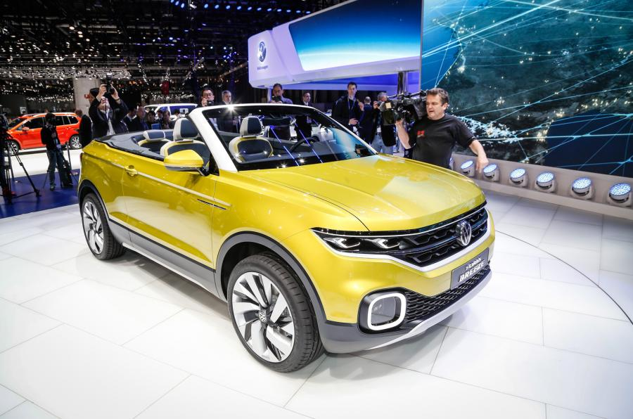 Volkswagen coupe Suv segmentine yeni modelle giriyor: T-Cross