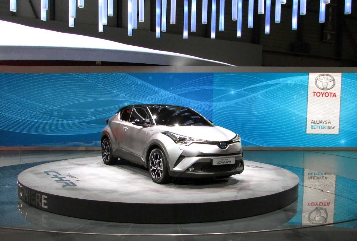 Toyota CH-R Cenevre Fuarı 2016 da tanıtıldı