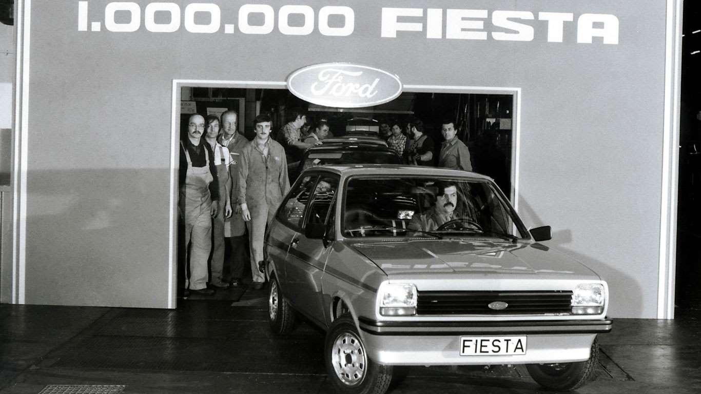 Ford Fiesta, pazara girdiği 2 yıl içinde 1 milyondan fazla satıldı.