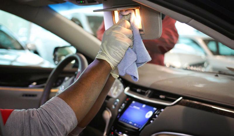 araba temizlemek