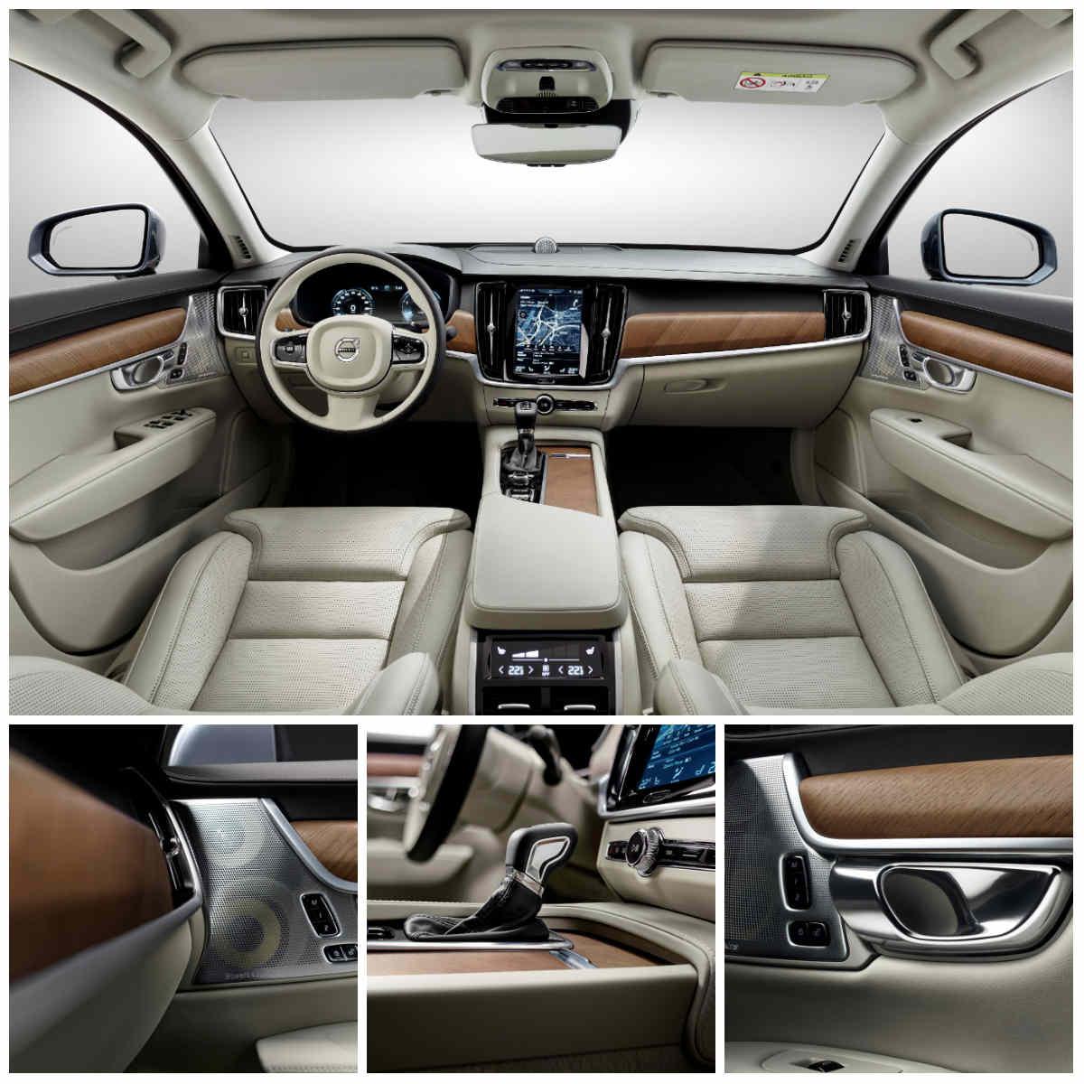 Yeni Volvo S90 iç alan