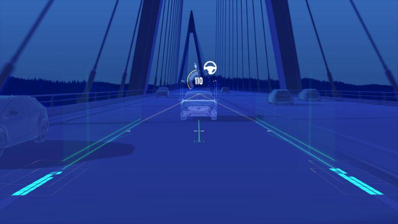 Volvo sürücüsüz sürüş