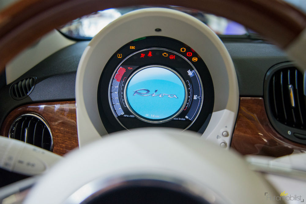 Fiat 500 riva yuvarlak gösterge paneli