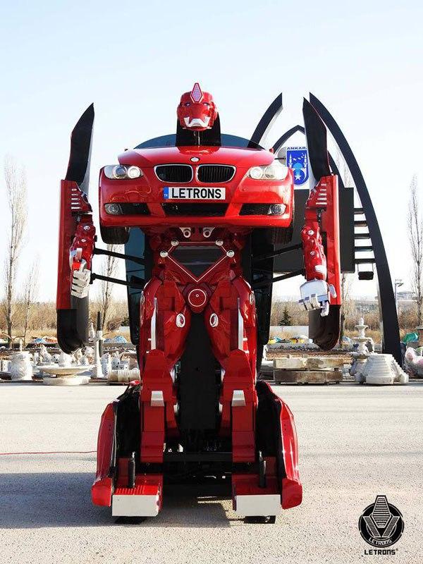 Ankaralı letronlar BMW transformers