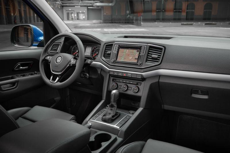 Yeni Volkswagen Amarok kabin konforu