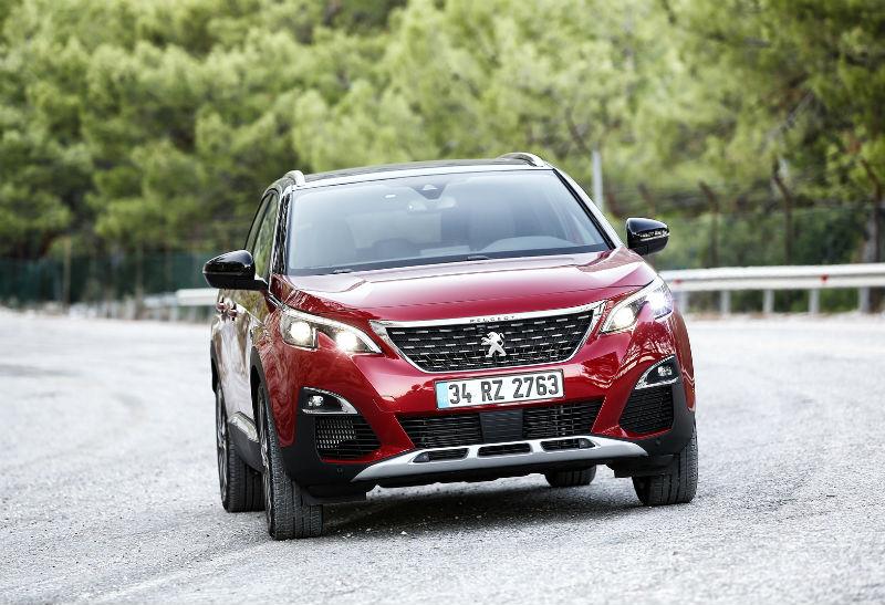 Peugeot 3008 yeni 2016 ön