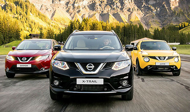 Nissan 2017 ÖTV indirimi kampanyaları, Nissan Juke, Nissan X-Trail,Nissan Qashqai
