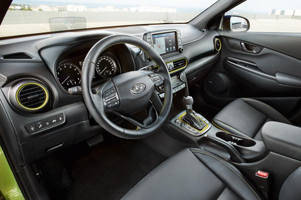 Hyundai kona direksiyon ve konsol