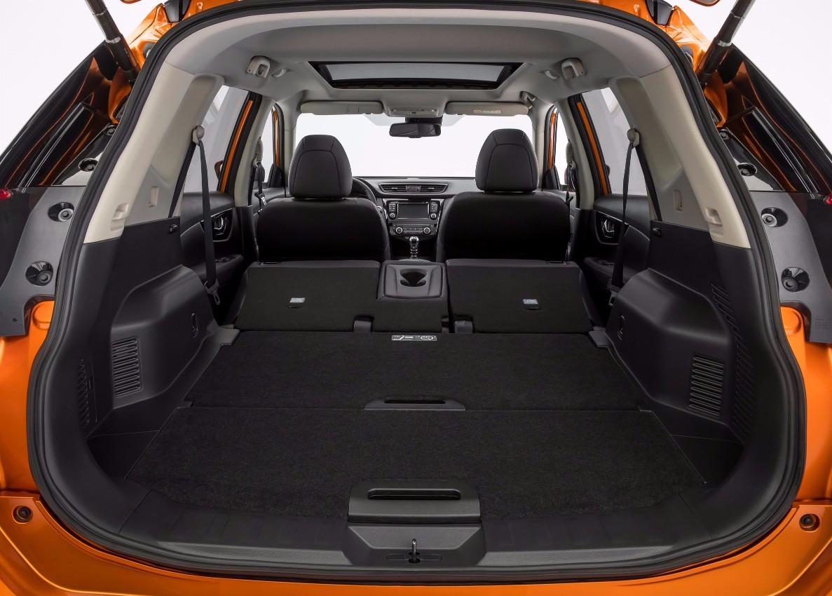 Nissan X-Trail arka bagaj
