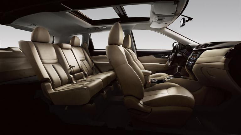 Nissan X-Trail yeni koltuklar bej