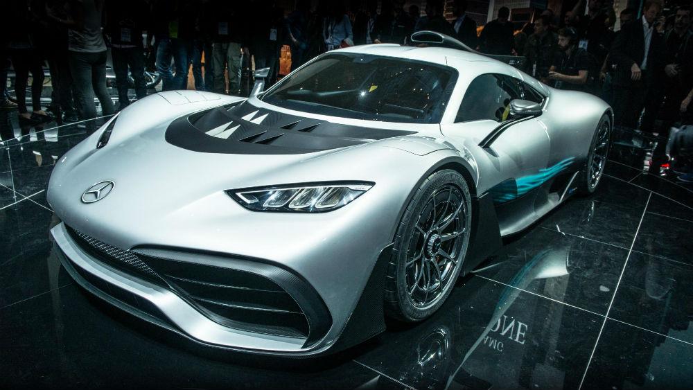 Mercedes AMG Project One Hypercar Konsepti- Frankfurt 2017
