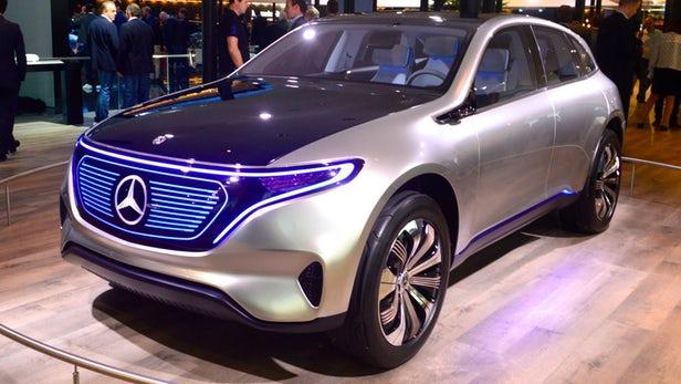 Mercedes-Benz EQA konspet