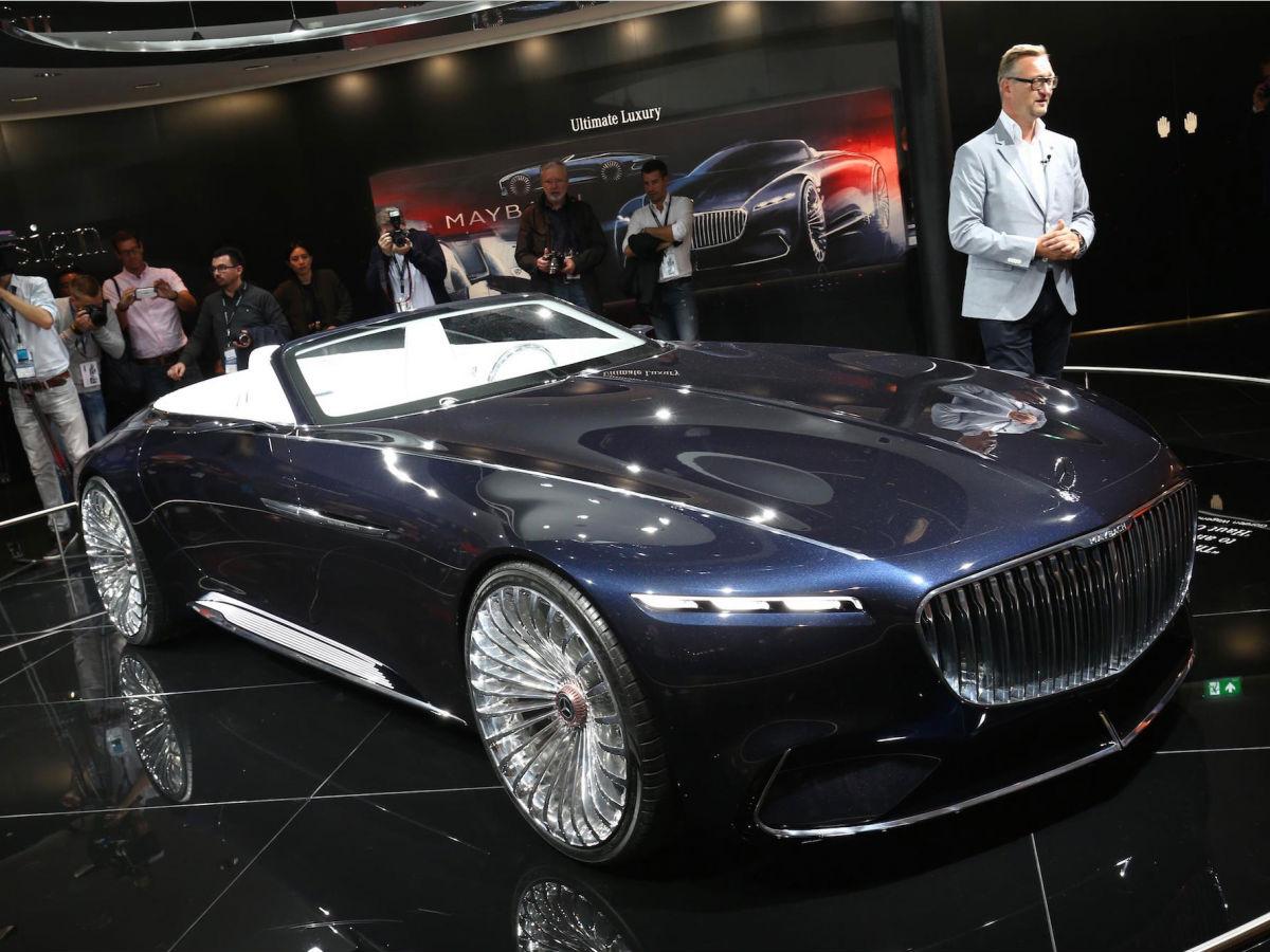 Vision Mercedes Maybach 6 Cabrio
