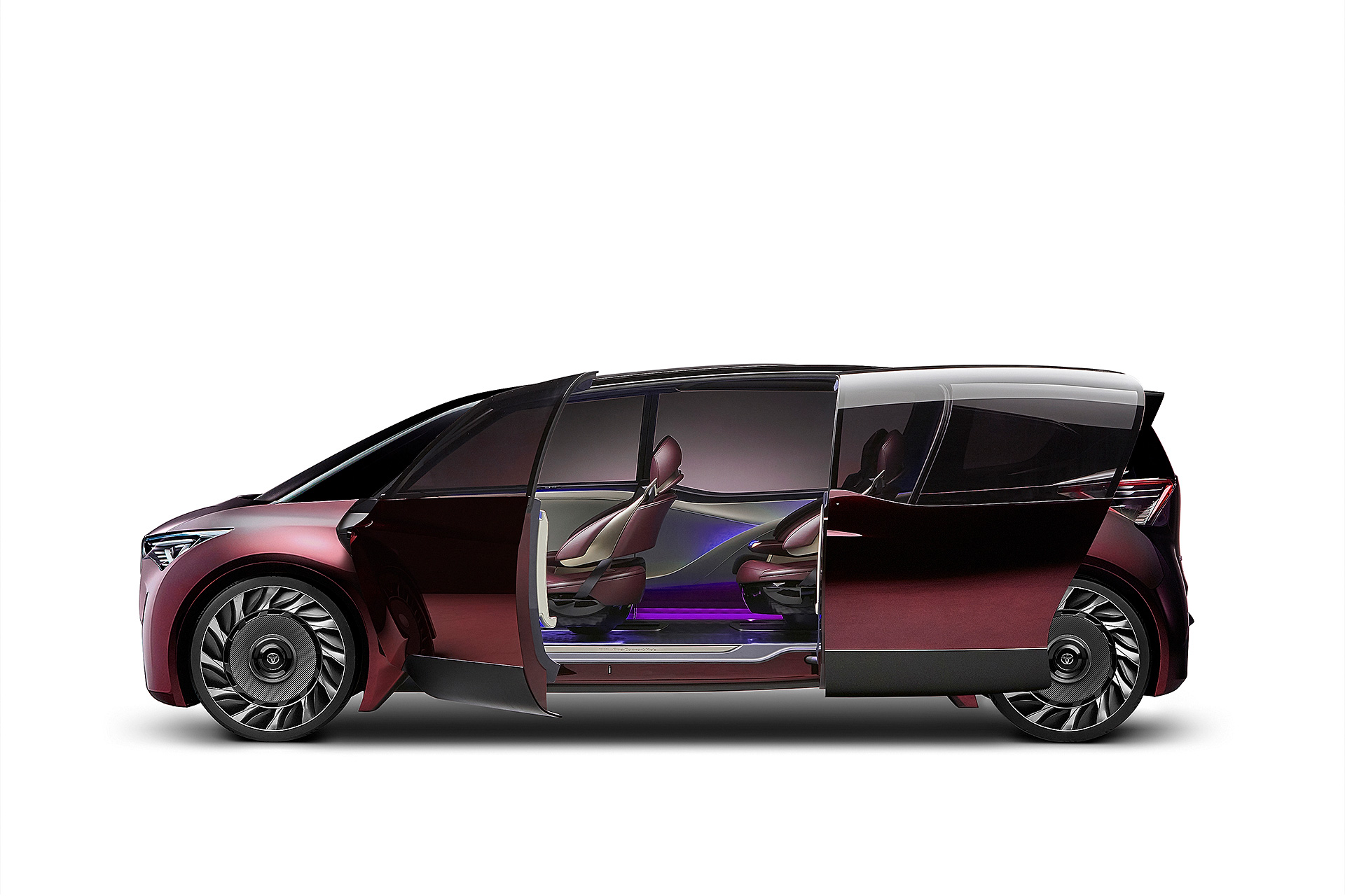 toyota yakıt hücreli konsept otomobil
