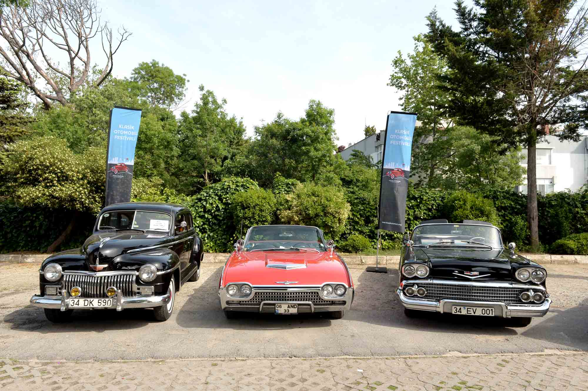 klasik otomobil festivali istanbul