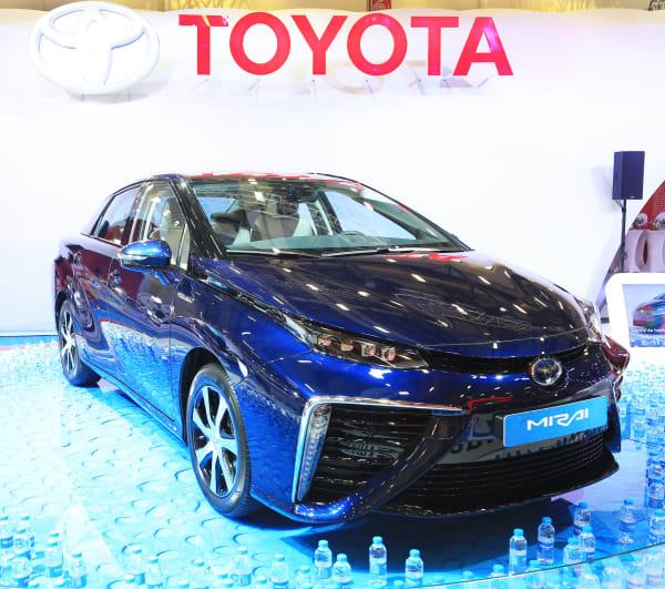 Toyota Mirai sadece 2 gün İstanbul'da