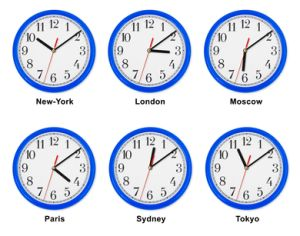 time zones for VA work